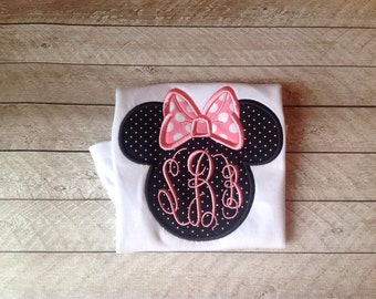 Minnie applique shirt