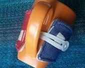 Wrap scrap adjustable cup cozy - Tekhni Soteria Glory