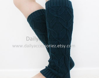 spring sale Cable knit womens leg warmers, long leg warmers, boot socks adult, for girls, for women, for her, for mom, for girlfriend