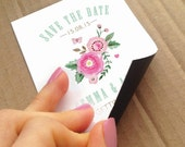 50 MAGNETIC magnet save the dates
