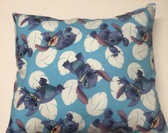 stitch pillow, lilo and stitch