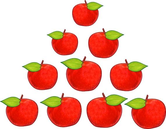10 Manzanas Para El Arbol De La Familia on Kindergarten Dr Seuss Worksheets