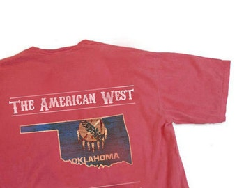 Oklahoma The American West Tee, Short Sleeve