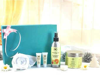 Detox Gift Hamper | Gift Basket | Spa Gift Sets | Gift Box | Gift For Her | Aromatherapy Weight Loss Oil | Pamper gift sets |