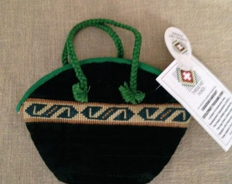 Hand embroidered Hunza Valley crafted Messenger bag thread Bohemian style