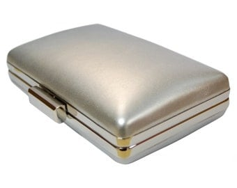 The Essential Silver Clutch From TheArtfulBag.com