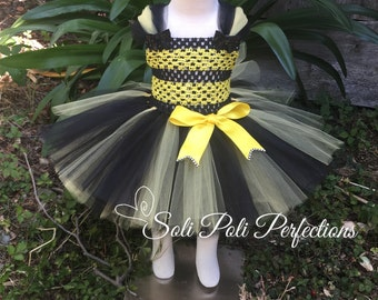 Bumble Bee Costume, Bumble Bee Tutu, Bee Tutu, Bee Costume, Bee Tutu with Wings