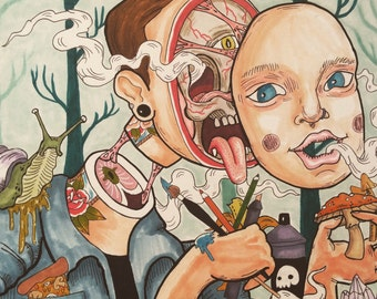 Dissection Of A Young Artist
