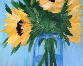 Sunflower Painting #1