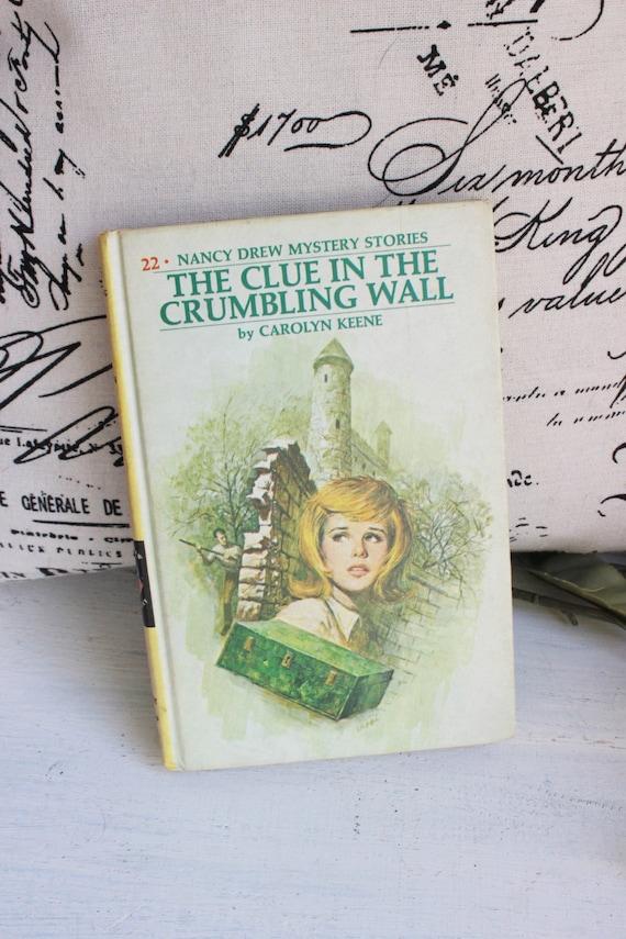 Vintage 1973 Nancy Drew Cookbook Clues to Good Cooking Carolyn Keene