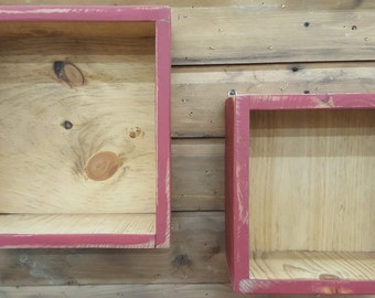 Rustic Shadow Box - Rustic Decor, Home Decor, Display Box, Country, Primitive