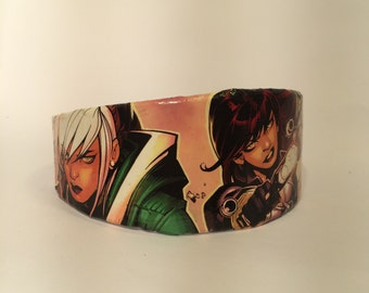 Black Widow and Rogue Comic Book Headband