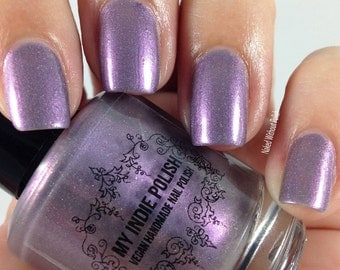 sale Holographic nail polish - cozy cable knit 7ml Vegan, Fall 2016