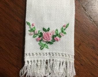 Dollhouse linen towel