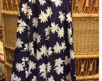 Flower Skirt with big side pockets