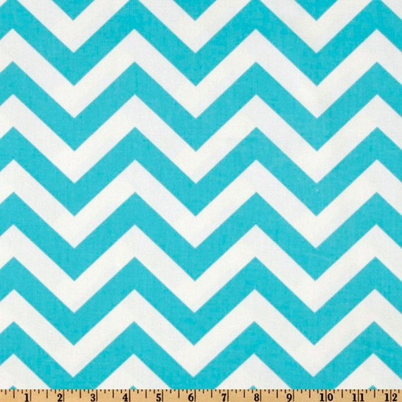 SALE!! Waterproof Picnic Blanket-Teal Chevron
