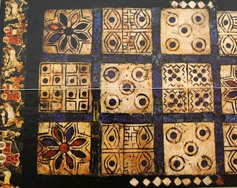 Vintage Board Game UR, Royal Game of Sumer 1977, British Museum Publications, the oldest game in the world, 2 Players