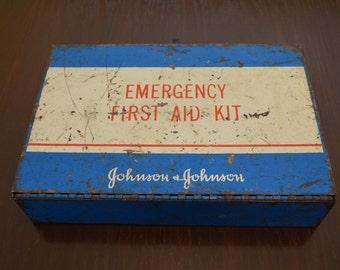 Johnson & Johnson Emergency First Aid Kit