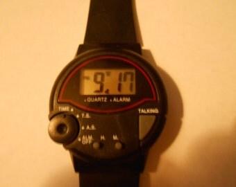 large talking watch