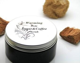 Warming body sugar&coffee scrub