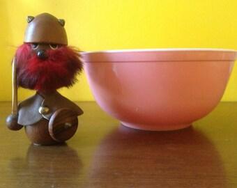 Vintage Pyrex Pink Bowl 403