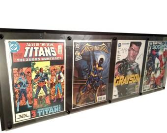 4 wide Comic Book Display