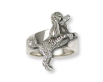 Poodle Ring Handmade Sterling Silver Dog Jewelry PD58-R