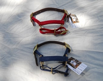 dwarf adjustable goat halter