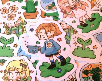 Green Thumb Sticker Pack