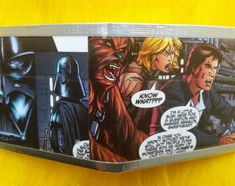 Star Wars Comic Book Duct Tape Wallet