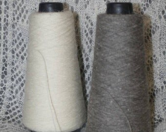 Yarn from original Orenburg combed goat down