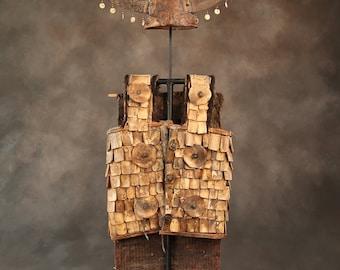 Warrior Bone Jacket & Hat, Sulawasi