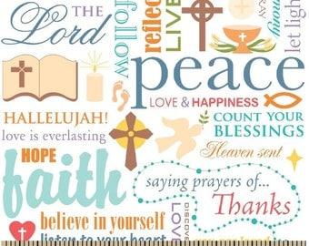 Words of Faith- Spring Creative