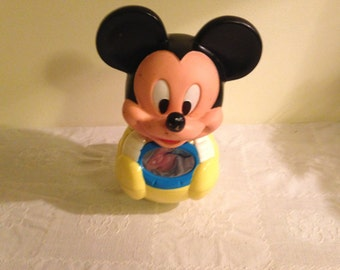 Vintage Rolly Polly Mickey Mouse