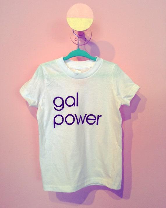 Gal Power kids tee