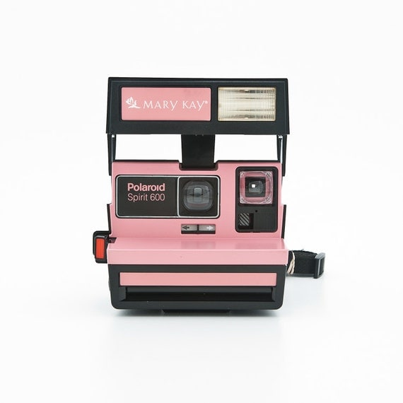 polaroid spirit 600 mary kay camera rare by shutterlightoc. Black Bedroom Furniture Sets. Home Design Ideas