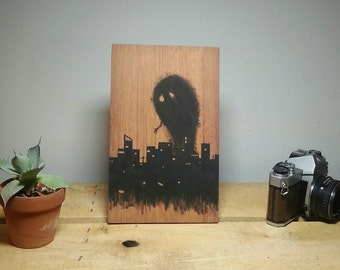 Nightmare over the city.