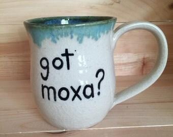 Got Moxa? (acupuncture) Mug, 16 ounce
