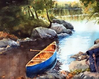 Canoe Paddle Etsy