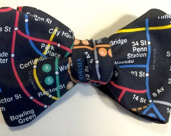 NYC Subway System  Bow Tie
