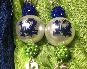 Chunky monkey 12's earrings
