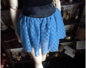 Light Blue Lace Skirt (SD)