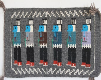 Authentic Hand Woven Original Navajo Rug/Wallhanging