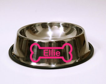 Bone Appetit Stainless Steel Dog Bowl