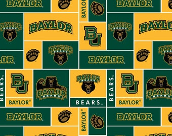 Baylor Bears NCAA Double-Sided Fleece Blanket