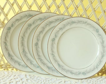 Bread and Butter Plates, Dessert Plates, Plates, Dinnerware. Antique Dishes, Party Dishes, Teaparty Dishes, Blue Forest
