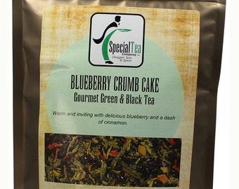Blueberry Crumb Cake, Green Tea, 20 Tea Bags