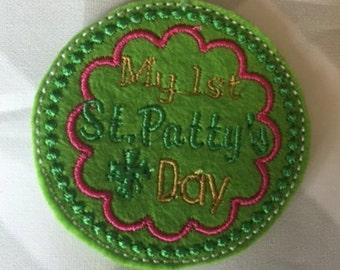 UNCUT St Pattys Day feltie