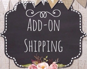 ADD ON SHIPPING (more than 4 earrings)