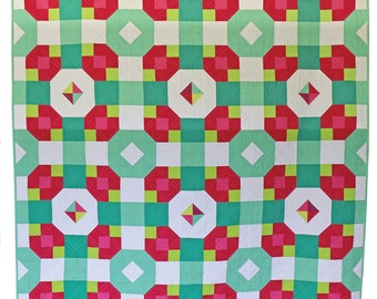 Picnic Plaid Quilt Pattern for EU customers